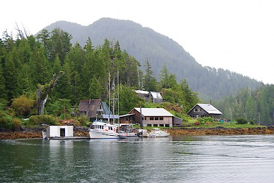 An archipelago of nine islands and the mainland make up Kyuquot, a village of 350, surely one of the most unique on BC's coast. Today commercial fishing and the forest industry remain the major employers, with tourism increasing in popularity.